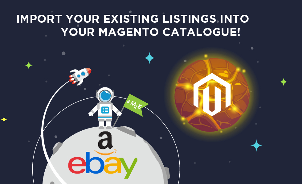 import products from eBay to Magento